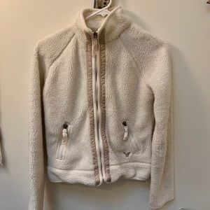 American Eagle Sherpa zip up